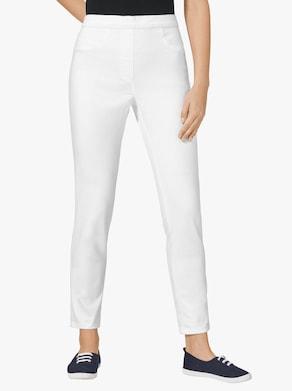 Kalhoty - bílá