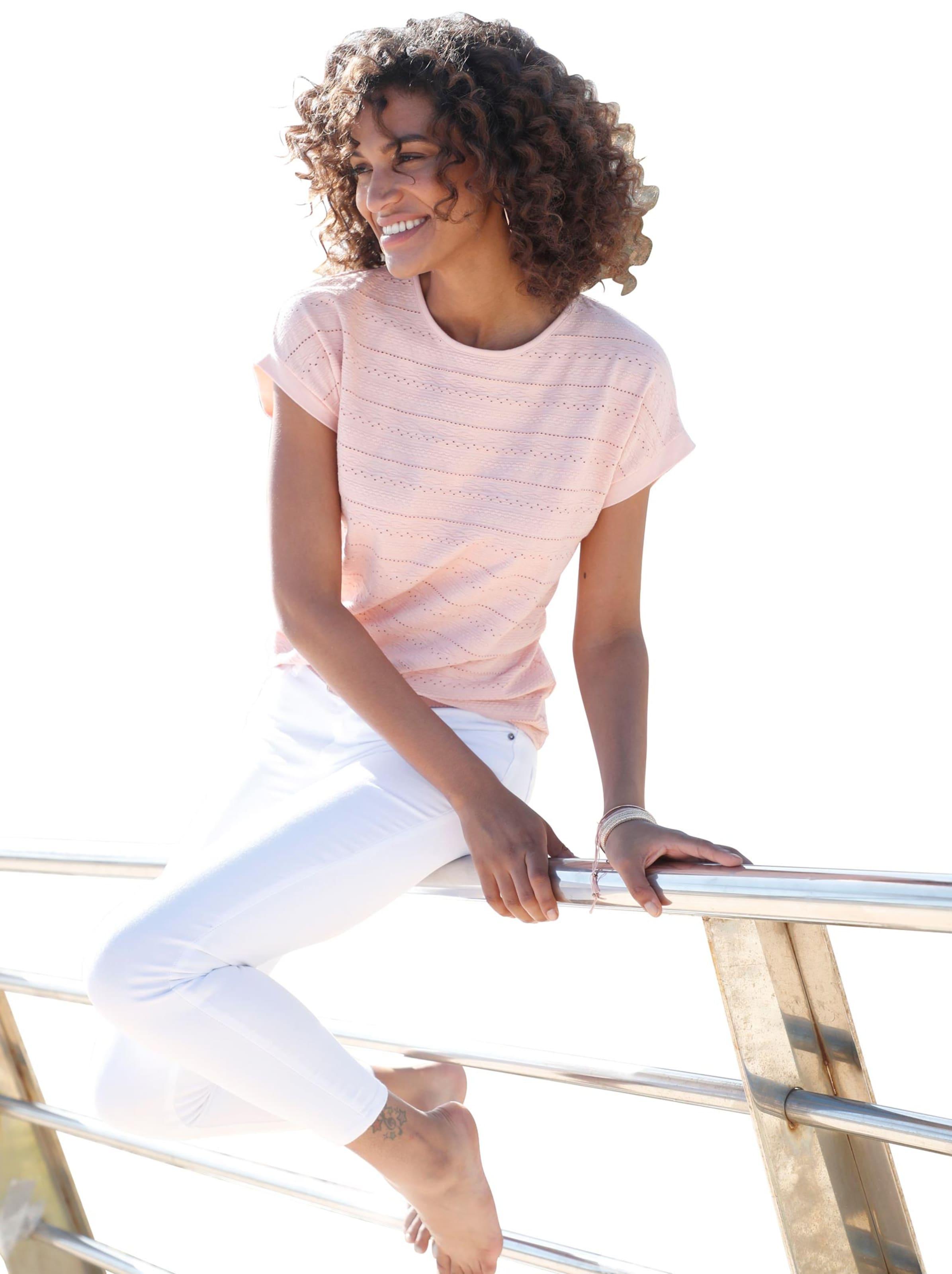Damen Shirt rosé