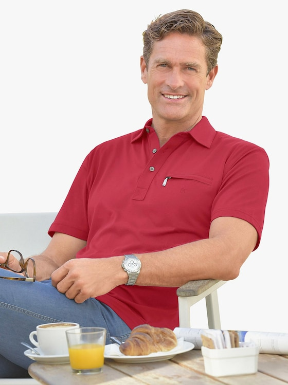 Hajo Kurzarm-Shirt - rot