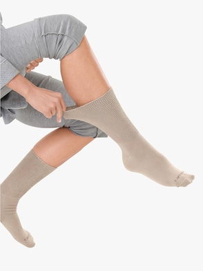 Ponožky - béžová