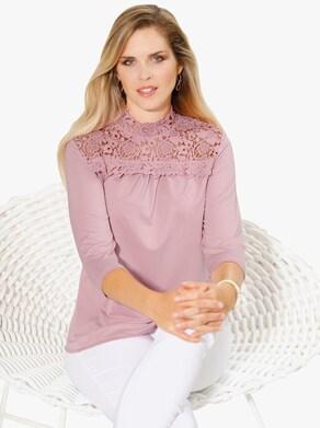 Tričko - hortenziová