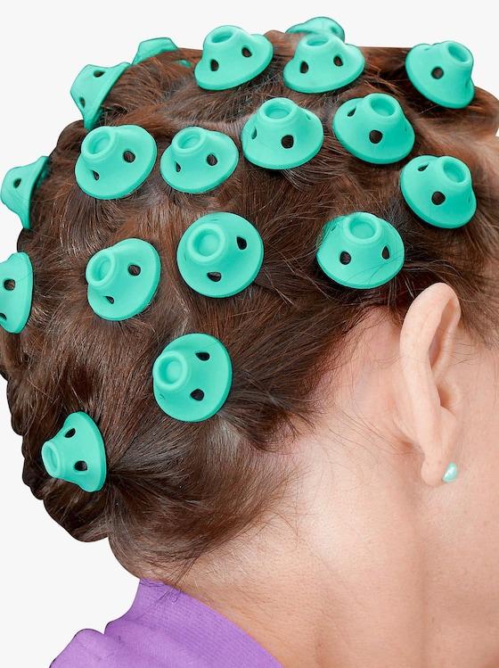 Haarspulen - grün