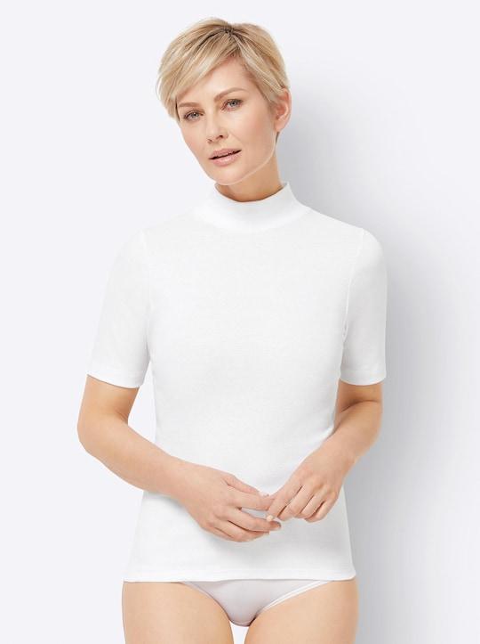 Blazershirt - weiß
