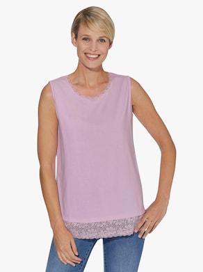 Shirttop - roze