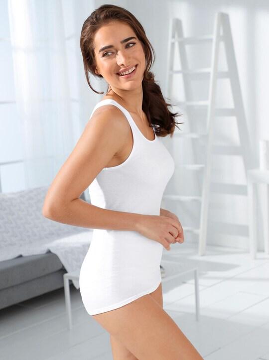 comazo Achselhemd - weiß