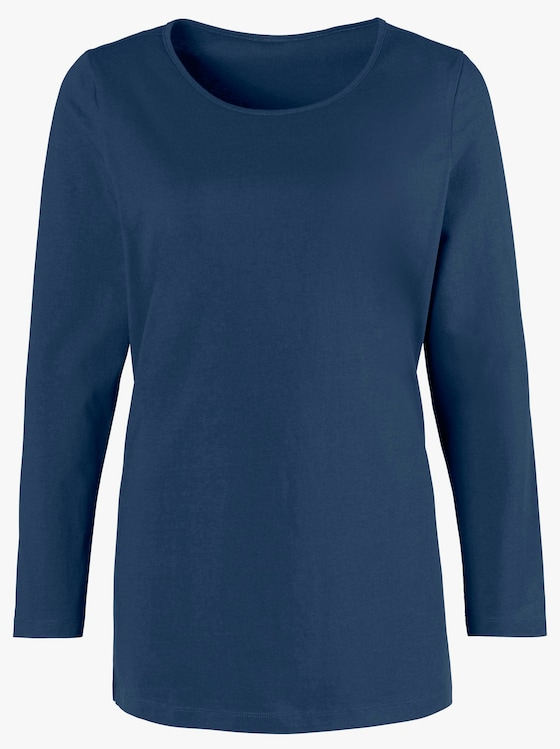 Lang shirt - marine