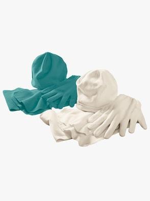 Fleece-set - ecru