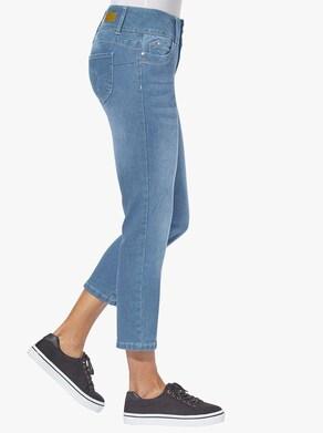 Collection L 7/8-Jeans - blue-bleached