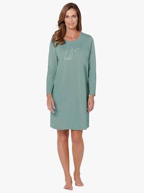 Sleepshirts - lindgrün + bleu