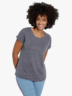 Shirt - nachtblau