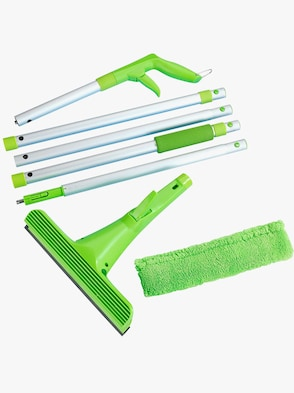 Fönsterputsningsset i 2 delar - grön