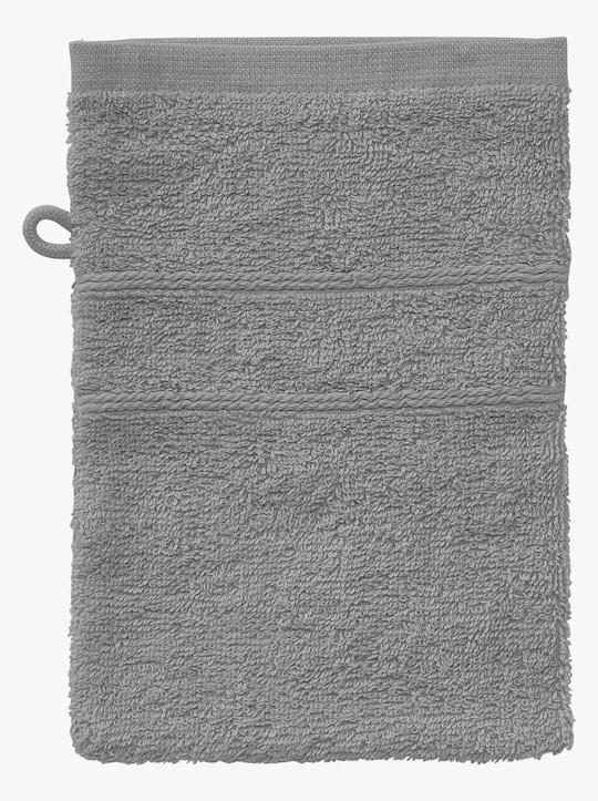 wäschepur 5-dlg. badstof-voordeelset - steengrijs
