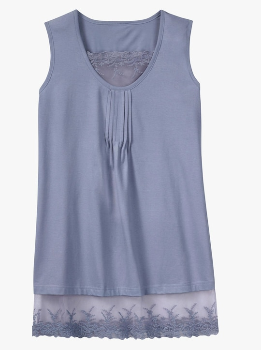 Shirttop - bleu