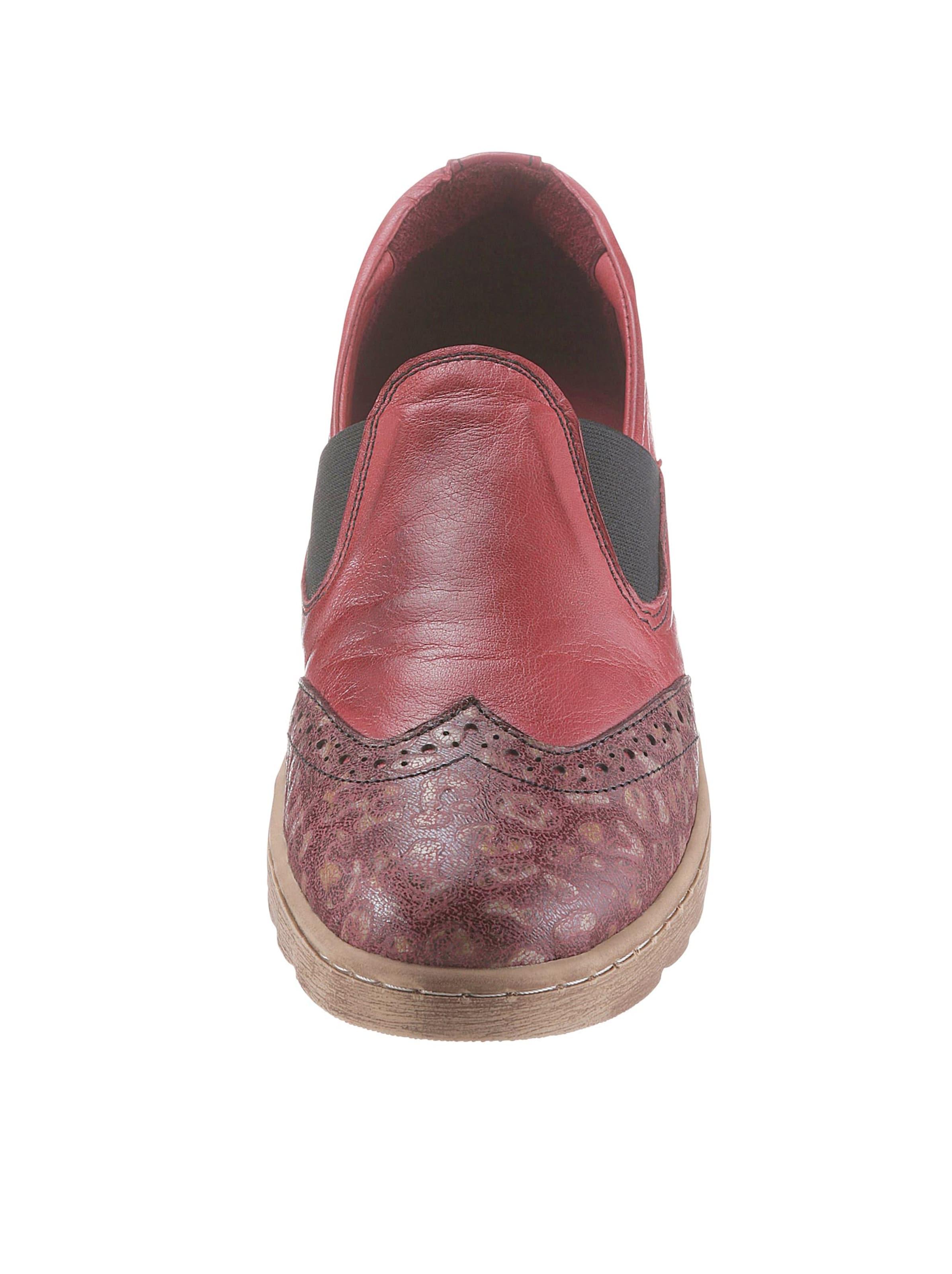 gemini - Damen Slipper bordeaux