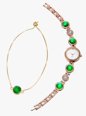 Smyckeset - grön