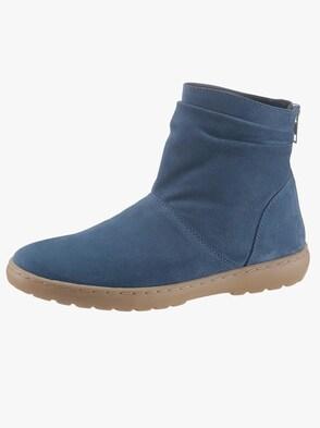 Stiefelette - jeansblau