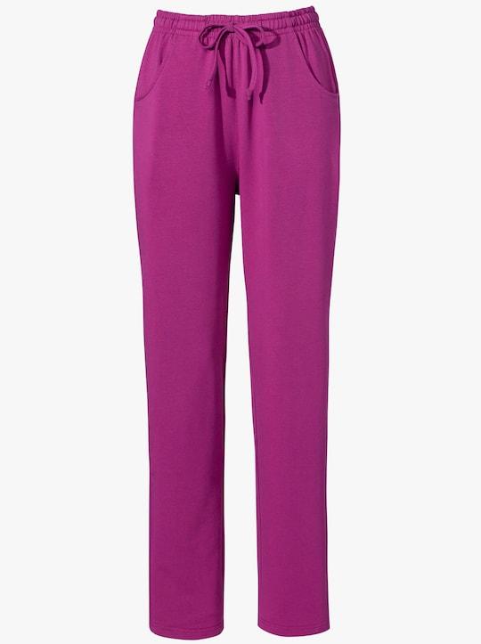 Jersey pantalon - bessenrood
