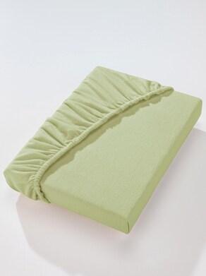 Betttuch - lindgrün