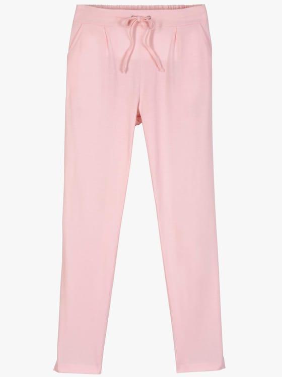 Jersey-Hose - rosé