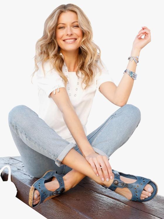 Gemini Sandalette - jeansblau