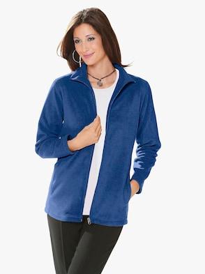 Fleece-Jacke - nachtblau