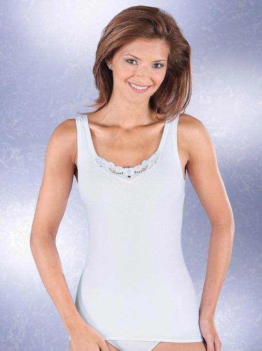 Schiesser Achselhemd - weiß
