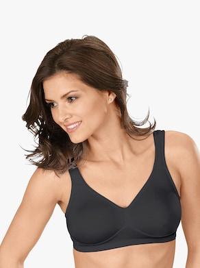 Speidel Komfort-BH ohne Bügel - schwarz