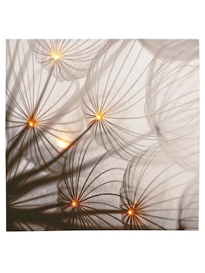 heine home LED-schilderij - naturel/grijs