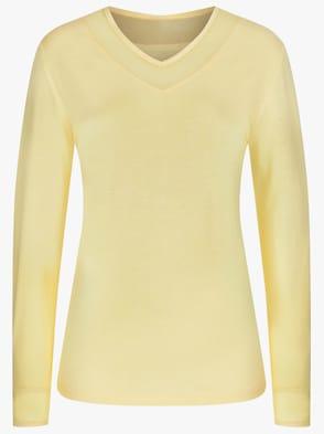 Schlafanzug-Shirt - gelb