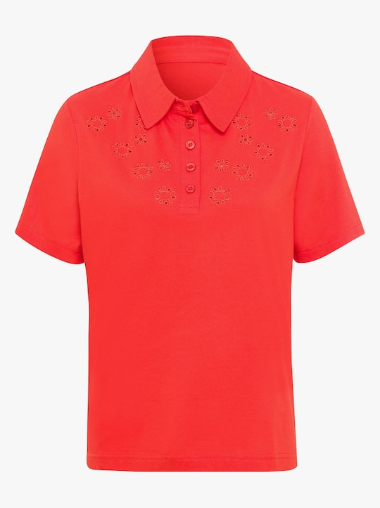 Poloshirt - roestrood
