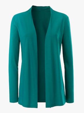 Shirtjasje - turquoise