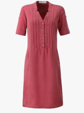 Kleid - himbeerrot