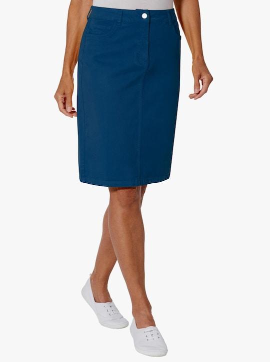 Sukňa - námornícka modrá
