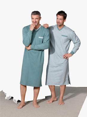 KINGsCLUB Nachthemden - mint + mint geprint