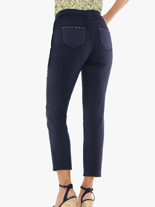 7/8-jeans - marin