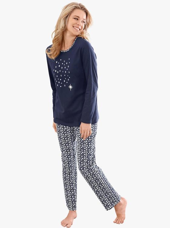 Pyjama - marine geprint