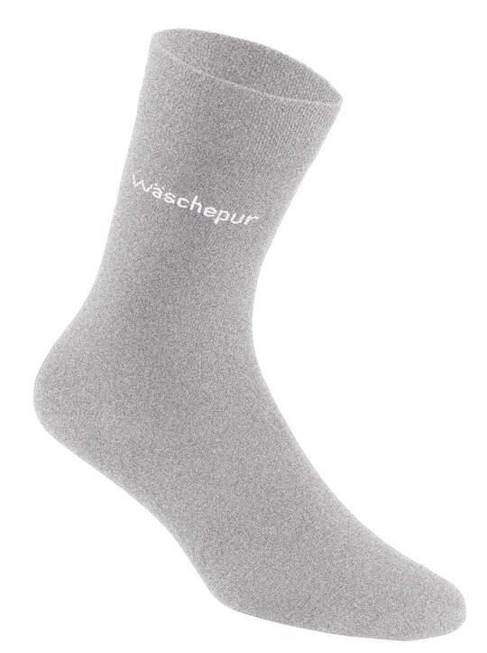 wäschepur Socken - hellgrau
