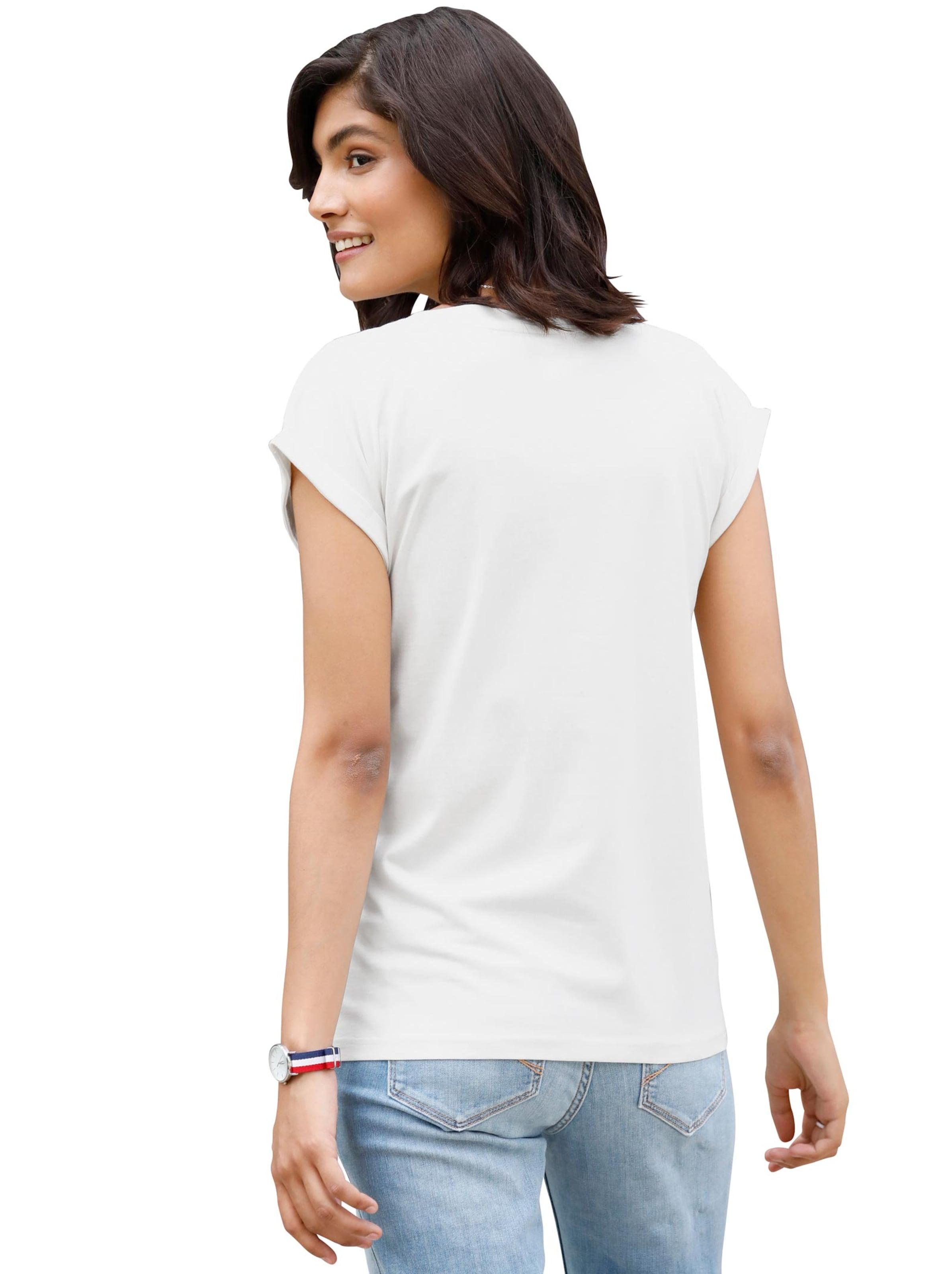 Damen Shirt ecru
