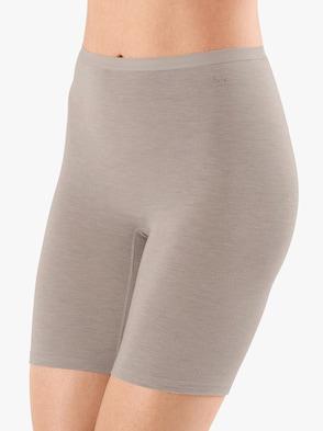 Pants - beige-meliert
