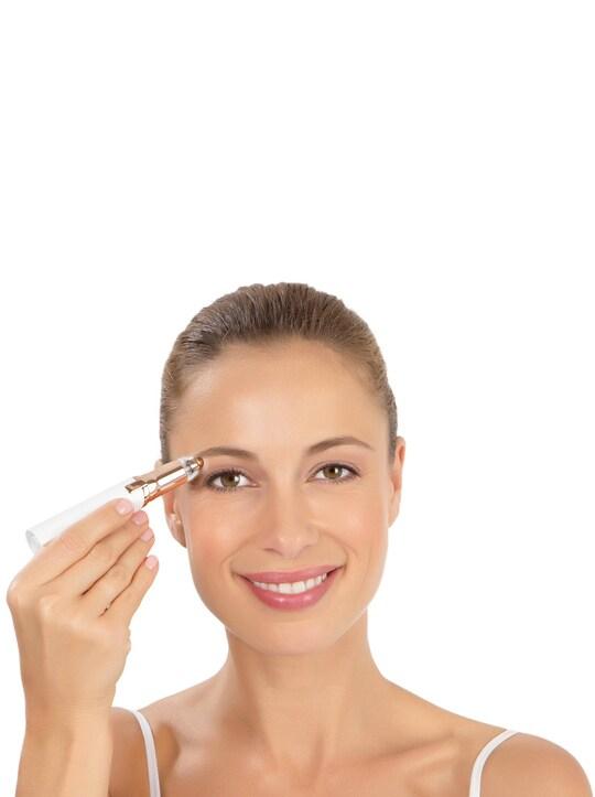 Gesichtshaarentferner - weiß