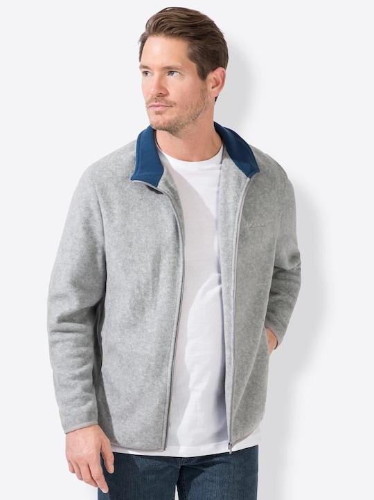 Catamaran Sports Fleece-Jacke - grau