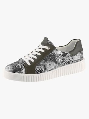 Sneaker - schwarz-bedruckt