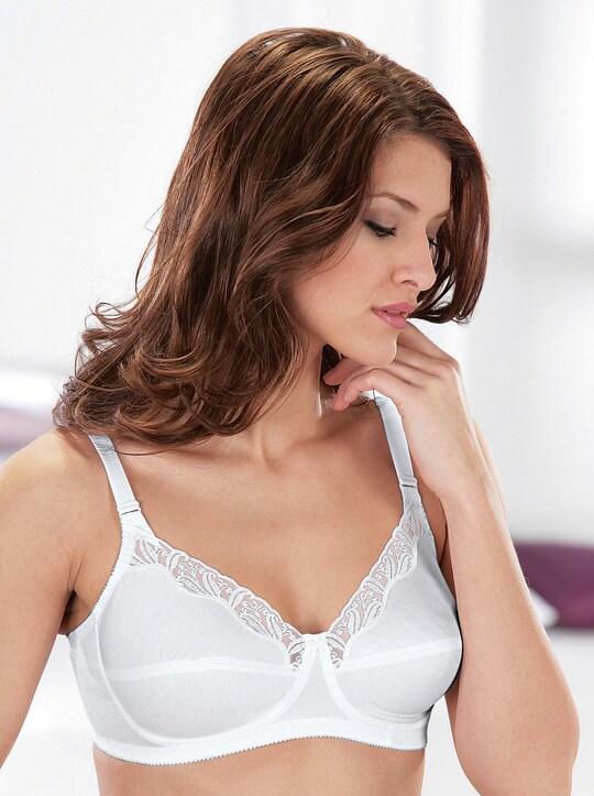 Susa Komfort-BH ohne Bügel - weiß