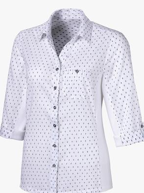 Bluse - weiß