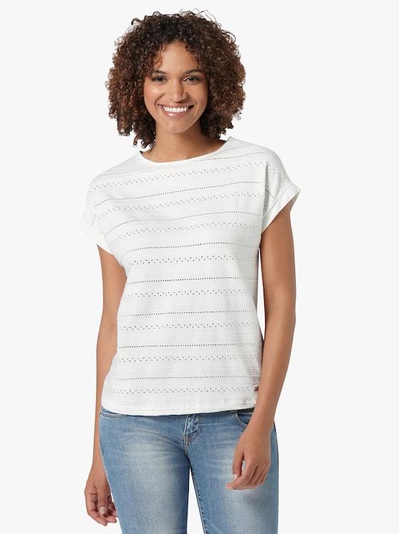 Shirt - wollweiß