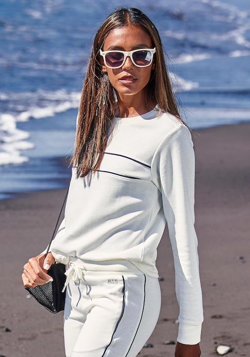 H.I.S Sweatshirt - ecru