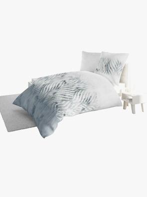 Bettwäsche - grau-gemustert