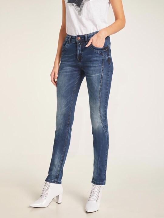 Rick Cardona Bauchweg-Jeans - dark used