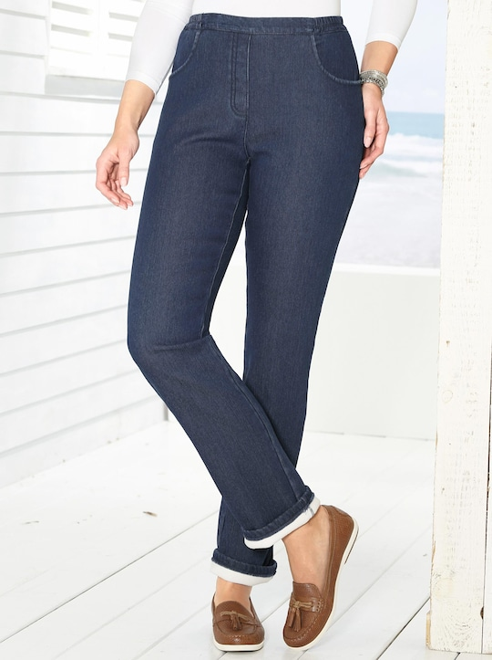 Thermo-Jeans - dark blue