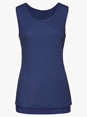 Fair Lady Shirttop - nachtblau